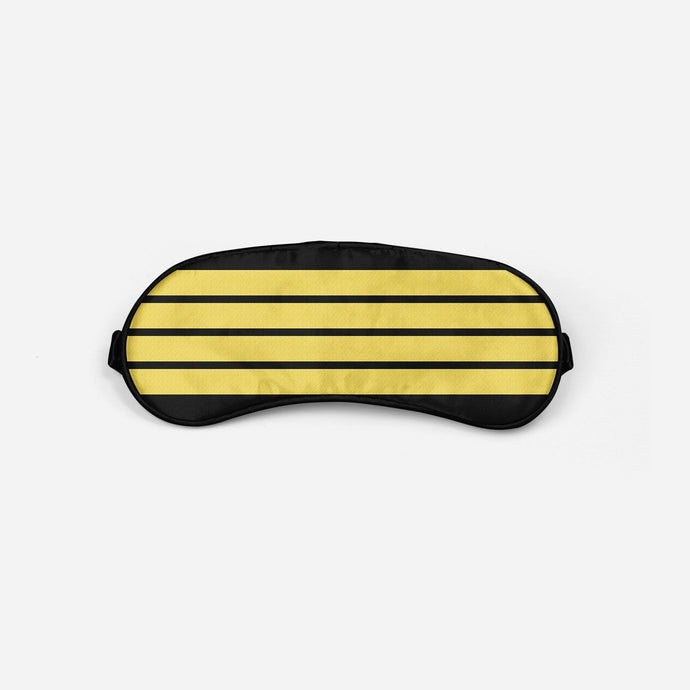 Pilot Epaulette Sleep Masks Aviation Shop 4 Lines Sleep Mask