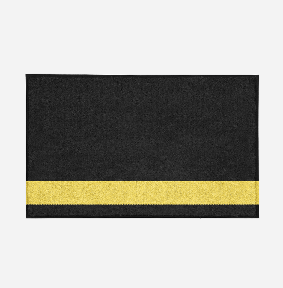 Pilot Epaulette (1 Line) Designed Door Mats Aviation Shop