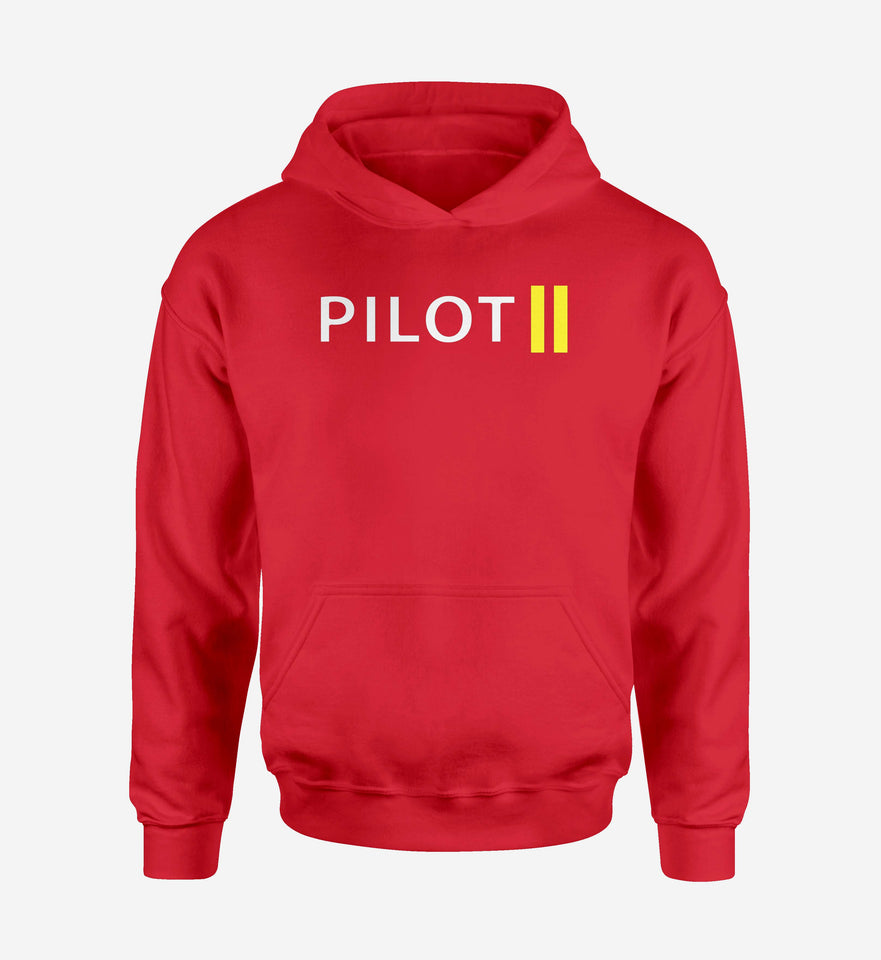 Pilot & Stripes (2 Lines) Designed Hoodies