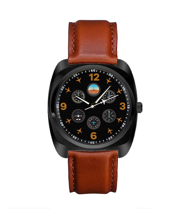 Pilot's Six Pack Designed Luxury Watches