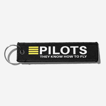 Pilots They Know How To Fly Designed Key Chains