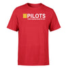 Pilots They Know How To Fly Designed T-Shirts