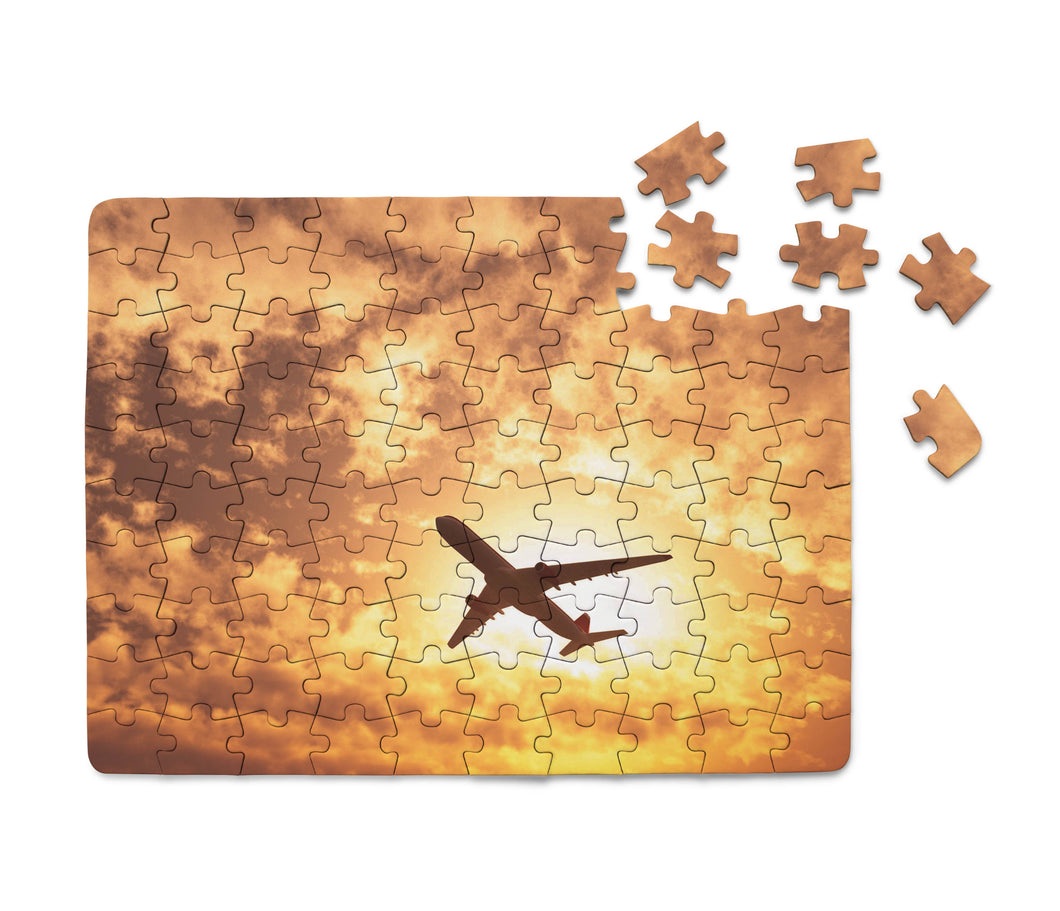 Plane Passing By Printed Puzzles Aviation Shop