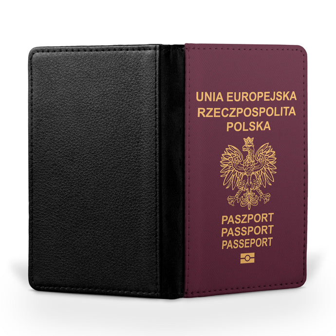 Polish Passport Designed Passport & Travel Cases