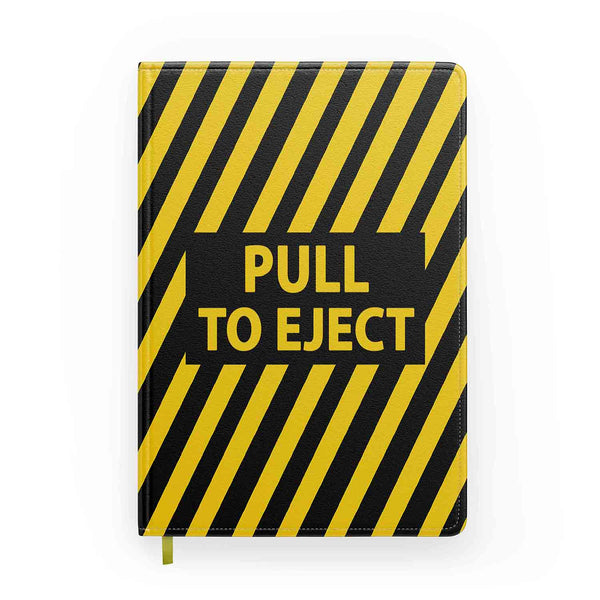 Pull To Eject Designed Notebooks