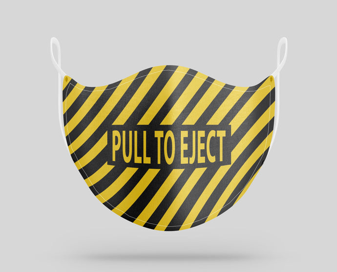 PULL TO EJECT Designed Face Masks