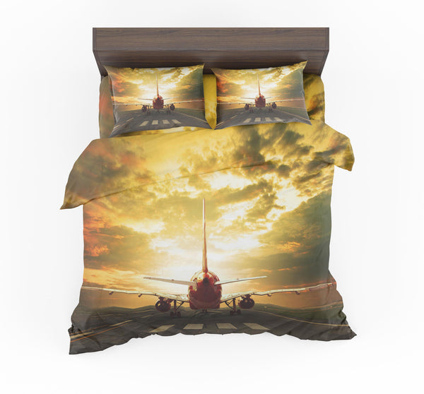 Ready for Departure Passanger Jet Designed Bedding Sets
