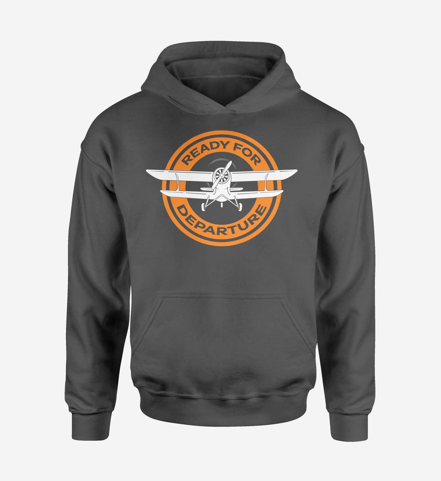 Ready for Departure Designed Hoodies
