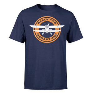 Ready for Departure Designed T-Shirts