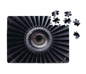 Real Jet Engine Printed Puzzles Aviation Shop