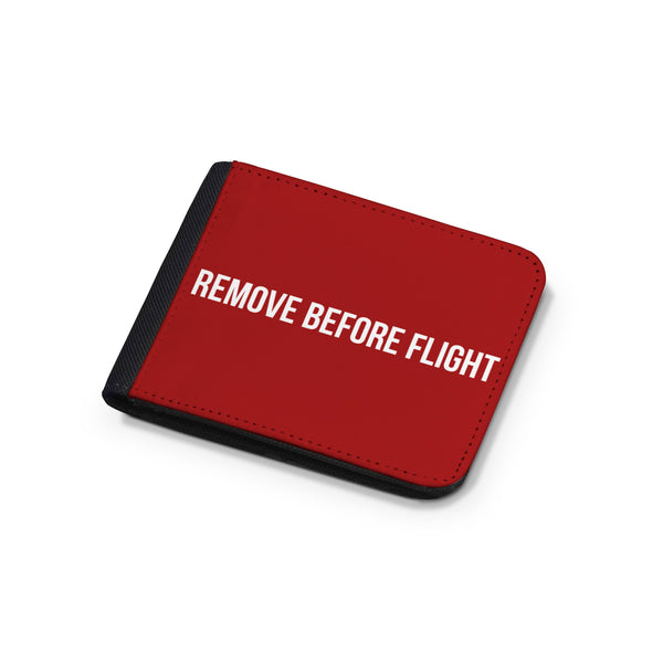 Remove Before Flight 2 Designed Wallets