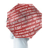 REMOVE BEFORE FLIGHT 3 Designed Umbrella