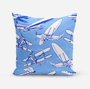 Retro & Vintage Airplanes Pillows
