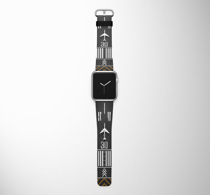 Runway Designed-RW30 Designed Leather Apple Watch Straps