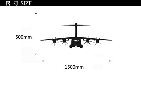Airbus A400M Designed Wall Sticker Pilot Eyes Store