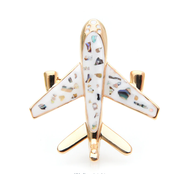 Super Cute & Amazing Airplane Shape Brooches