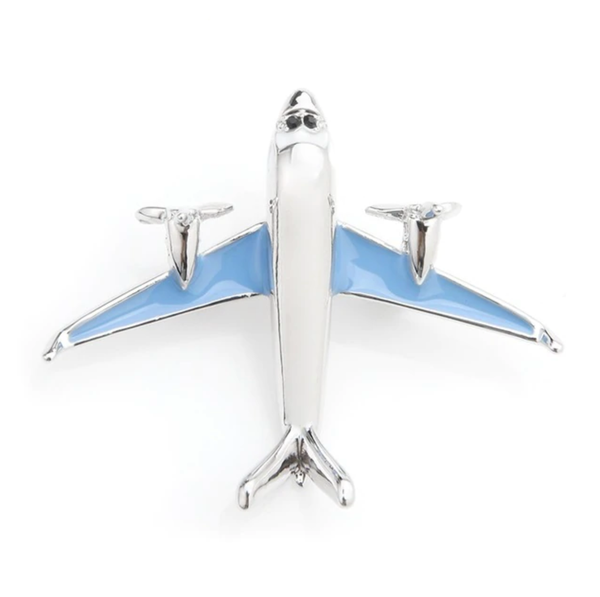 Twin Engine Super Cool Airplane Shape Brooches