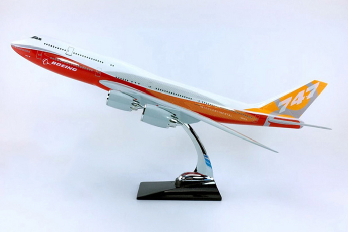 Boeing 747-800 Intercontinental Airplane Model (Handmade Special Edition 45CM)