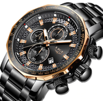 Sport & Luxury Style Multi-Display Pilot & Aviator Watches