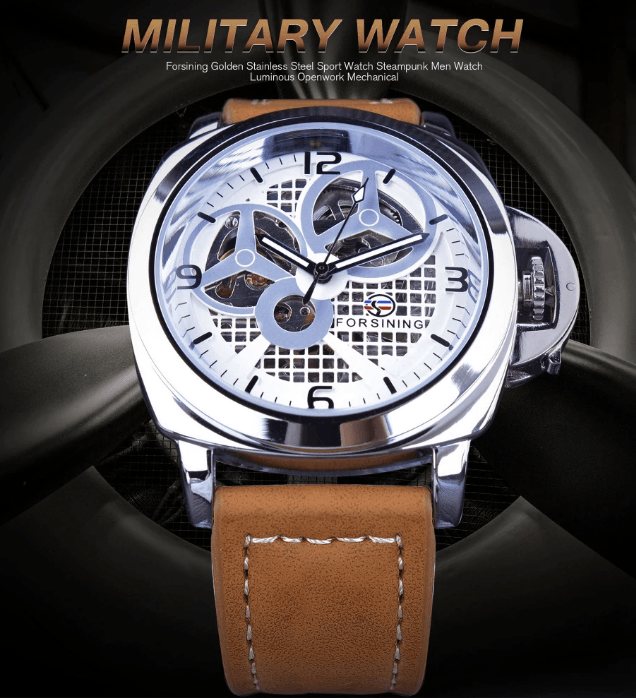 Propeller Shape Designed Military Pilot Series Watches Aviation Shop