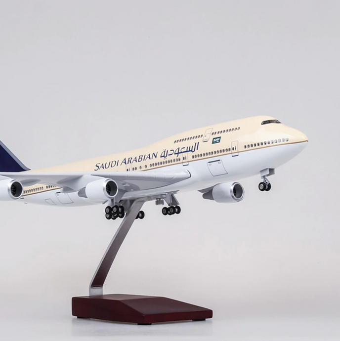 Saudi Arabian Boeing 747 (Special Edition 44CM) Airplane Model