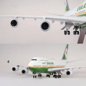 Eva Air Boeing 747 (Special Edition 47CM) Airplane Model