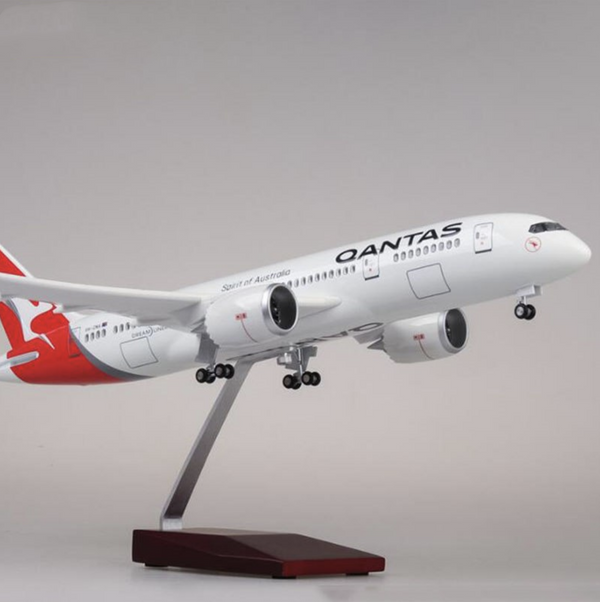 Qantas Boeing 787 (Special Edition 47CM) Airplane Model