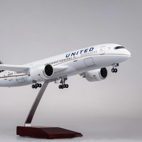 United Airlines Boeing 787 (Special Edition 47CM) Airplane Model