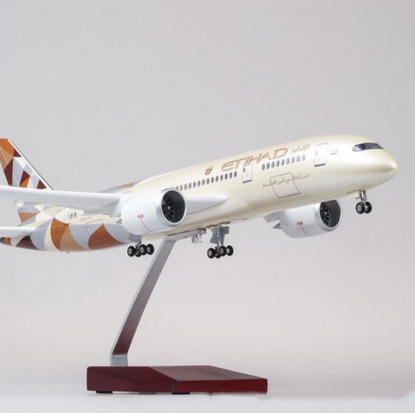 Etihad Airways Boeing 787 (Special Edition 47CM) Airplane Model