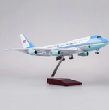 United States Air Force One Boeing 747 (Special Edition 47CM) Airplane Model