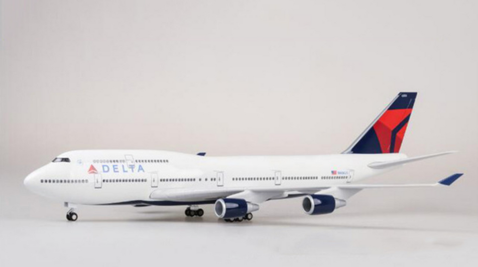 Delta Airlines Boeing 747 (Special Edition 47CM) Airplane Model