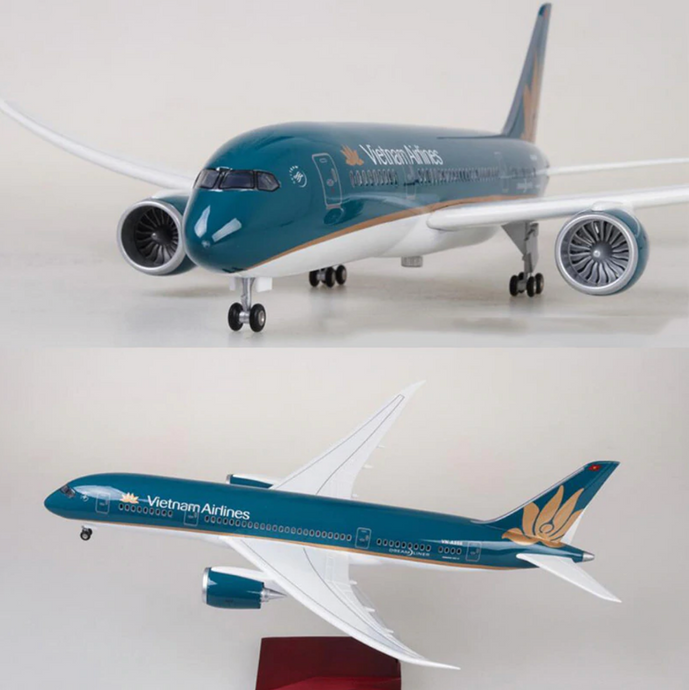 Vietnam Airlines Boeing 787 (Special Edition 47CM) Airplane Model