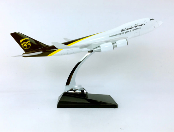UPS Cargo Boeing 747 (Special Edition 36CM) Airplane Model