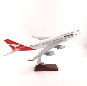 Qantas Boeing 747 Airplane Model (Handmade Special Edition 45CM)