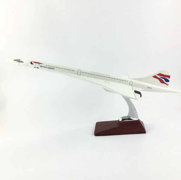 British Airways Concorde Airplane Model (Handmade Special Edition 45CM)