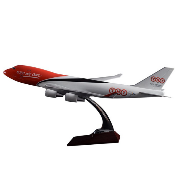 TNT Express Boeing 747 Airplane Model (Handmade 47CM)