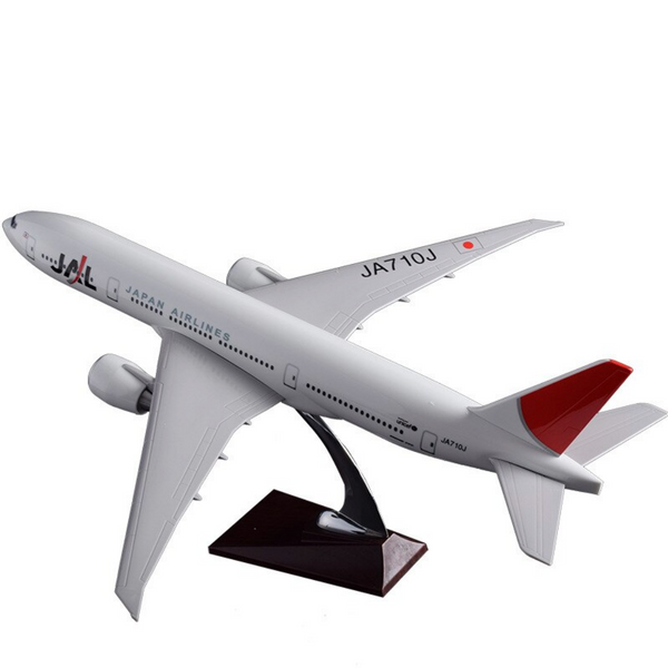 JAL Japan Air Boeing 777 Airplane Model (Handmade 47CM)