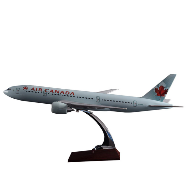 Air Canada Boeing 777 Airplane Model (Handmade 47CM)