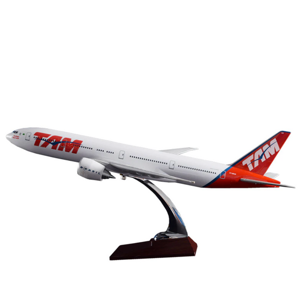 TAM - Brazillian Airline Boeing 777 Airplane Model (Handmade 47CM)