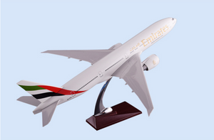 Emirates Boeing 777 Airplane Model (Handmade 47CM)
