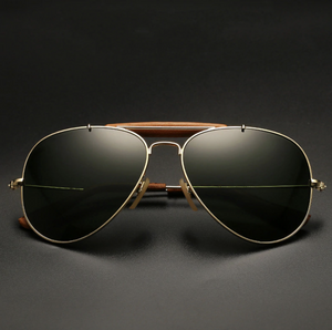 Vintage Style Super Cool Aviator Sun Glass