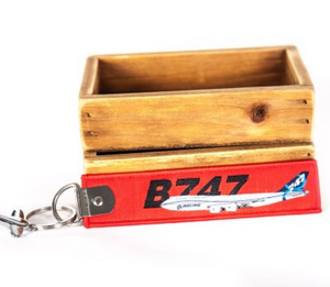 Colourful Boeing 747 Designed Key Chains