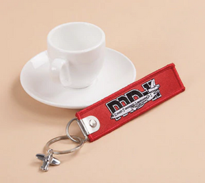 MD-11 & Plane Image Designed Key Chains