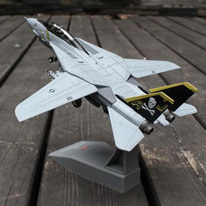 1/100 Scale USA F-14A/B AJ200 VF-84 Fighter Airplane Model