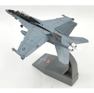 1/100 Scale USA F/A-18F Super Hornet Fighter Airplane Model