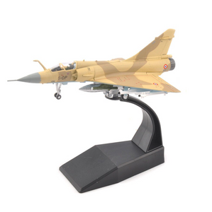 1/100 Scale France Dassault Mirage 2000 Fighter Airplane Model