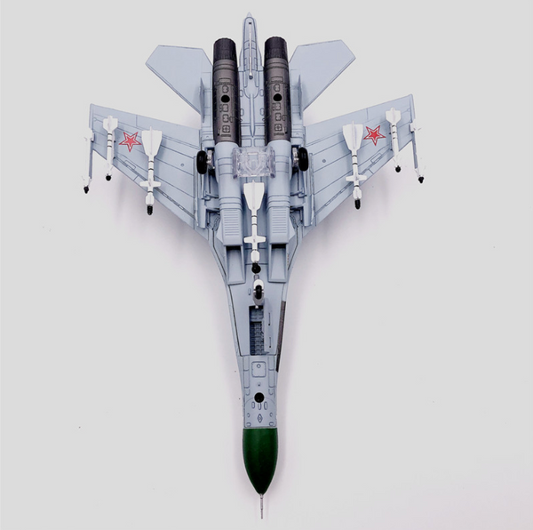1/100 Scale Russian 1987 NO.36 SU-27P Flanker Fighter Airplane Model