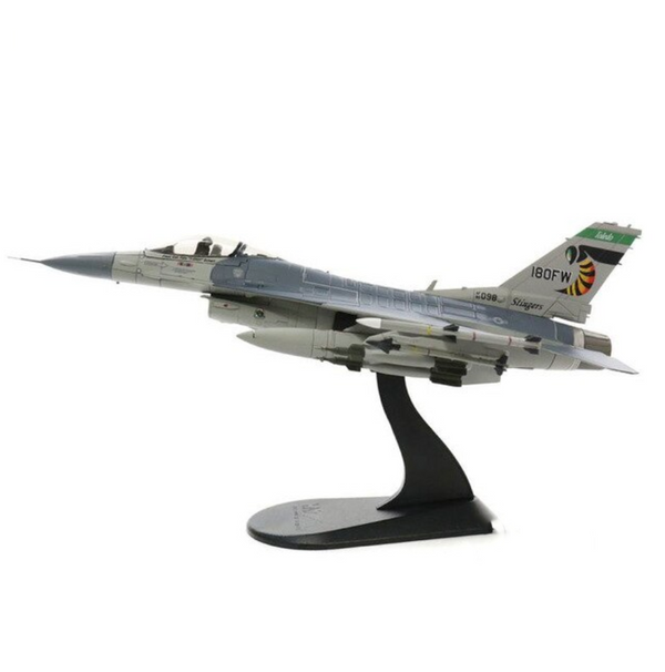 "1/72 Scale Lockheed F-16C Fighting Falcon ""Stingers"" 180th Airplane Model"