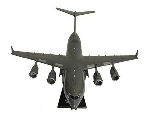 1/200 Scale RAF C-17 Globemaster III Military Airplane Model