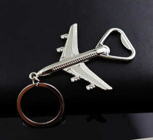 Retro Airplane Shape Bottle Opener & Key Chain